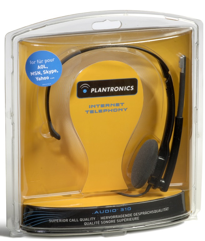 Гарнитура для компьютера Plantronics Audio 310