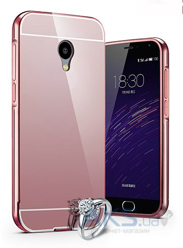 Чехол Original Mirror Series Meizu M2, M2 Mini Pink Gold