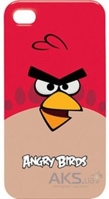 Чехол Gear4 Angry Birds Protective Case Bird Red Apple iPhone 4, iPhone 4S (ICAB401G)