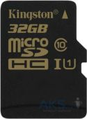 Карта памяти Kingston 32Gb microSDHC Class 10 UHS-I (R90/W45MB/s) (SDCA10/32GBSP)