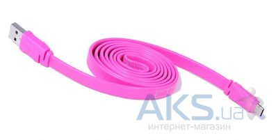 Кабель USB REMAX micro USB Ruler Cable Pink