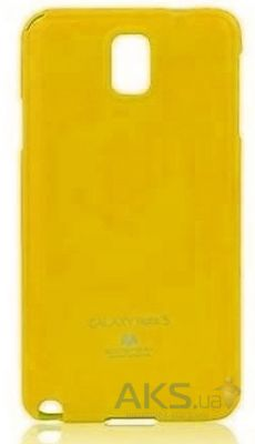 Чехол Mercury Jelly Color Series Samsung N9000, N9002 Galaxy Note 3 Yellow