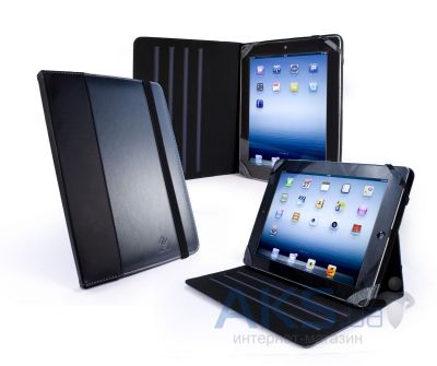 Чехол для планшета Tuff-Luv Slim-Stand Faux Leather Case Cover for iPad 2,3,4 Graphite Grey (C10_64)