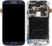 Дисплей (экраны) для телефона Samsung Galaxy S4 I9505 + Touchscreen with frame Original Blue