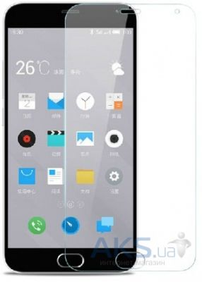 Защитное стекло Tempered Glass 2.5D Meizu M2 Note (Тех. пак)