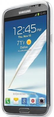 Чехол Capdase Soft Jacket Xpose Tinted White for Samsung Galaxy Note II GT-N7100 (SJSGN7100-P202)