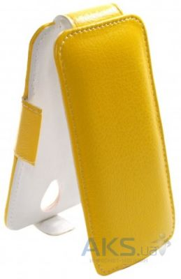 Чехол Sirius flip case for Lenovo Vibe X2 Yellow