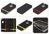 Вид 3 - Чехол Rock Royce Series Apple iPhone 5, iPhone 5S, iPhone 5SE Black - Red