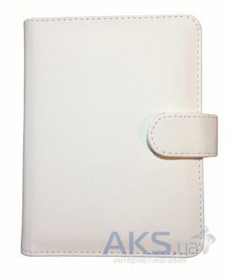 Обложка (чехол) Korka Classical White (Ak4T-Clas-pu-w) для Amazon Kindle Touch/Kindle Paperwhite