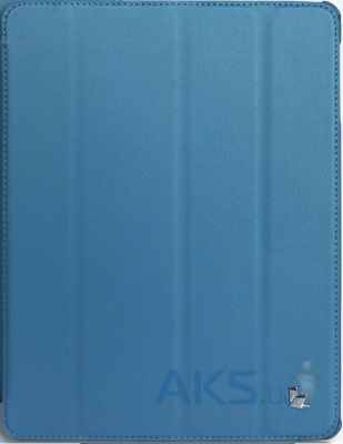 Чехол для планшета JisonCase Ultra-Thin Smart Case for iPad 4/3/2 Blue (JS-IPD-07I40)
