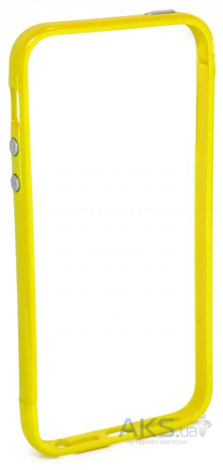 Чехол JCPAL Aluminium Apple iPhone 5, iPhone 5s, iPhone SE Set-Yellow (JCP3215)