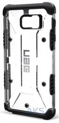 Чехол UAG Urban Armor Gear Samsung N920 Galaxy Note 5 Ice Transparent (GLXN5-ICE-W/SCRN-VP)