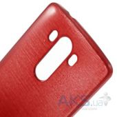 Вид 2 - Чехол Original TPU Pearl Lines LG Optimus G3 D850, D855, D856 Red