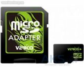 Карта памяти Verico 8GB MicroSDHC Class 10 + SD Adapter (VFE3-08G-V1E)
