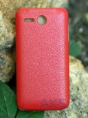 Вид 2 - Чехол TETDED Leather Flip Series Lenovo A680 Red
