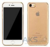 Чехол Remax Crystal Series Apple iPhone 7 Gold