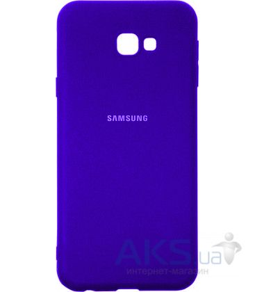 Чехол 1TOUCH silicone case Samsung J415 Galaxy J4 Plus 2018 Violet