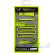 Вид 7 - Зарядное устройство TYLT Band Car Charger LIGHTNING+USB (2.1А, 0.6 m) GREEN (IP5-BANDG-T)
