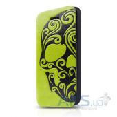Чехол ITSkins Angel for iPhone 5C Green/Grey (APNP-ANGEL-GRGY)