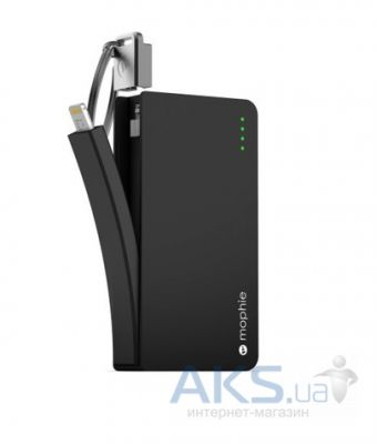 Внешний аккумулятор Mophie Juice Pack Reserve Lightning 1350 mAh Black