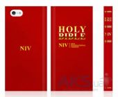 Вид 2 - Чехол Araree Bookcover Bible Apple iPhone 5, iPhone 5S, iPhone SE Red