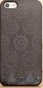 Чехол Michael Kors Embossed Metallic Case for iPhone 5/5S Black (MK-METL-BLCK)