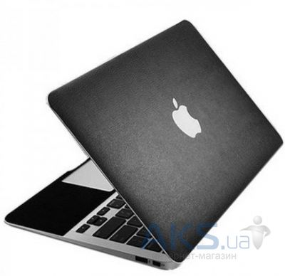 "Защитная пленка SGP Leather Laptop Cover Skin Deep Black for MacBook Air 13"" 2010/11"