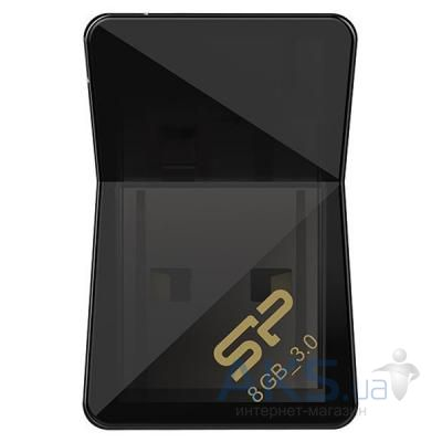 Флешка Silicon Power 8Gb Jewel J08 Black USB 3.0 (SP008GBUF3J08V1K)
