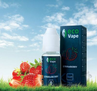 ECO Van Vape 0мг, 10 мл. Strawberries