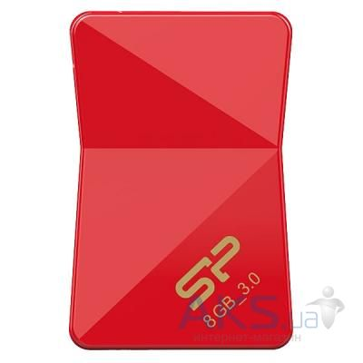 Флешка Silicon Power 8Gb Jewel J08 Red USB 3.0 (SP008GBUF3J08V1R)