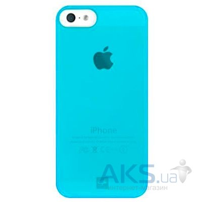 Чехол Bling My Thing Minimalist Tinted Apple iPhone 5, iPhone 5S, iPhone SE Neon Blue (BMT-MI5-TN-BL-NON)