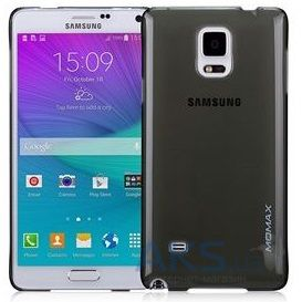Чехол Momax Ultratough case for Samsung Galaxy Note 4 Black (CUSANOTE4D)