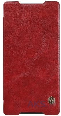 Чехол Nillkin Qin Leather Series Sony Xperia C5 E5533 Red
