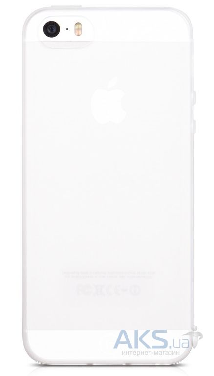 Чехол Hoco Light Frosted Series Apple iPhone 5, iPhone 5S, iPhone SE White