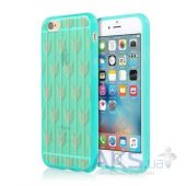 Чехол Incipio Design Series Apple iPhone 6, iPhone 6S Arrow Teal (IPH-1378-TEL-INTL)