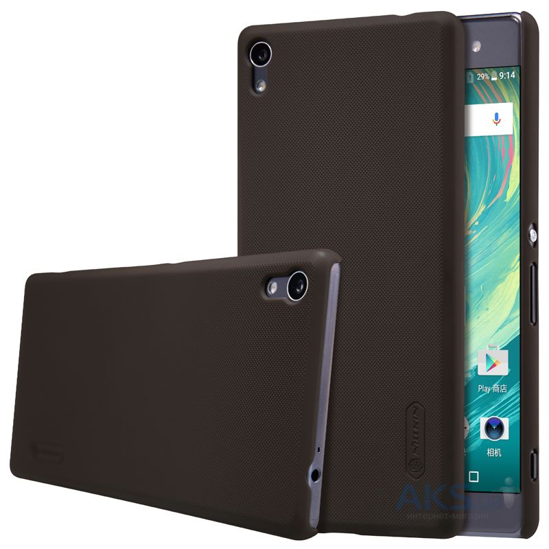 Чехол Nillkin Super Frosted Shield Sony Xperia XA Ultra Brown