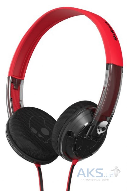 Наушники (гарнитура) Skullcandy UPROCK Speced Out/Clear/Chrome (S5URGY-390)