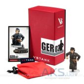 Вид 2 - VSTank 1:24 MILITARY METAL FIGURE GERMAN COMMANDER GER02 (A03102802)