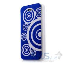 Чехол ITSkins Angel for iPhone 5C Blue/White (APNP-ANGEL-BLWT)