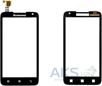 Сенсор (тачскрин) для Lenovo A308 Original Black