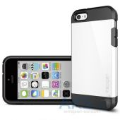 Вид 2 - Чехол SGP Case Tough Armor Series for iPhone 5C Infinity White (SGP10509)