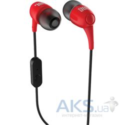 Наушники (гарнитура) JBL T100A In Ear Headphones Red (T100ARED)