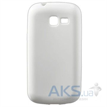 Чехол Celebrity TPU cover case for Samsung  S7260 Galaxy Star Pro White