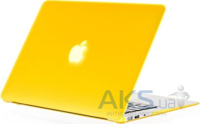 Чехол Kuzy Rubberized Plastic Case for MacBook Air 11 Yellow