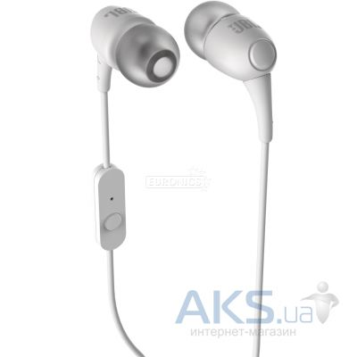 Наушники (гарнитура) JBL T100A In Ear Headphones White (T100AWHT)