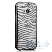 Чехол Vouni Glimmer Zebra для HTC One M8 Black