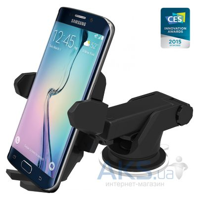 Держатель iOttie Easy One Touch Wireless Qi Standard Car Mount Charger for Galaxy S6/S6 Edge, Google Nexus 5 (HLCRIO132)
