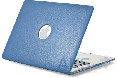 Чехол Kuzy Leather Case for MacBook Pro 13(with Retina display) Aqua