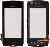 Сенсор (тачскрин) для Nokia 500 with frame Original Black