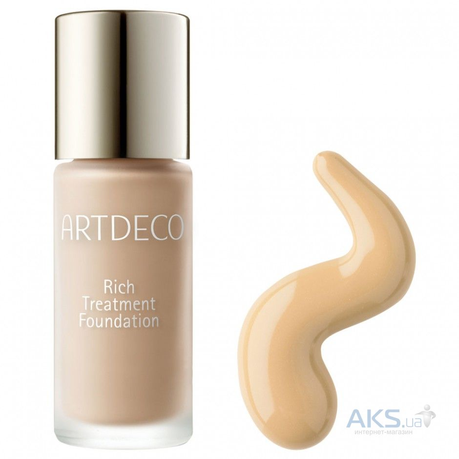 Тональный крем Artdeco Rich Treatment Foundation №17 creamy honey